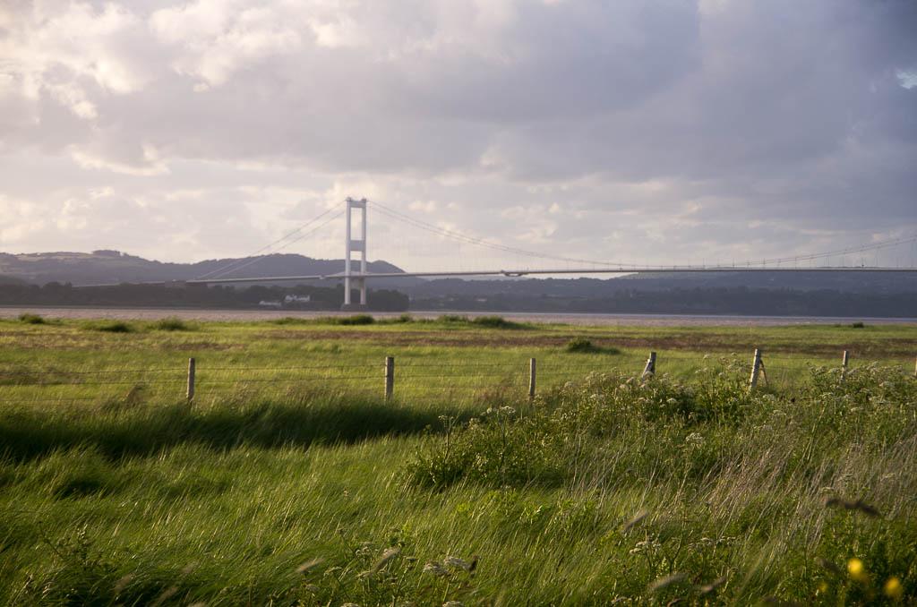 Le Severn Bridge frontière entre l'Angleterre et le Pays de Galles