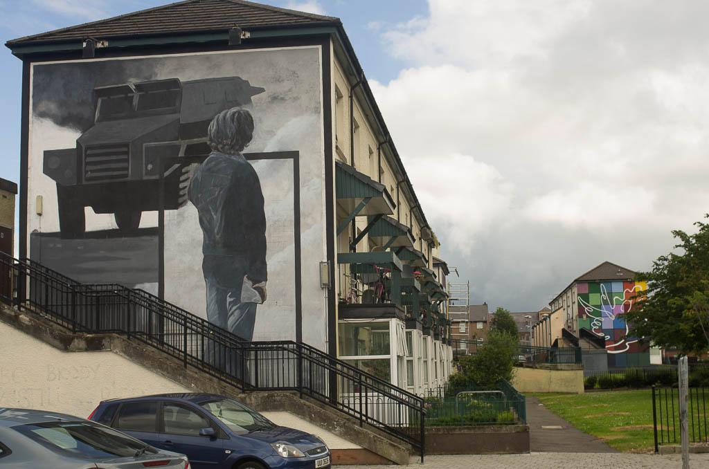Derry. Quartier du Dockside
