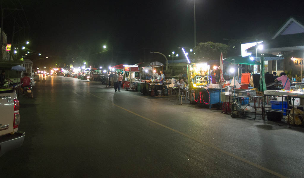 Marché à Krabi