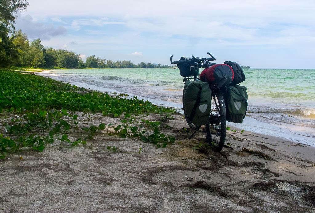 Plage du sud est de la Thaîlande