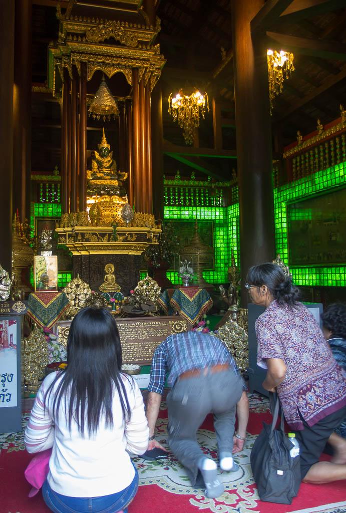 Chiang Rai - bouddha d'émeraude