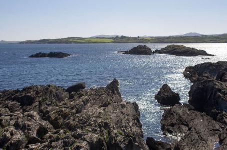 """A proximité de """"Alter Wedge Tom"""" dans la péninsule de Mizen Head."""