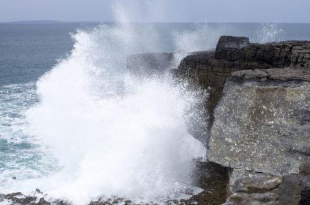 La côte du Burren dans le comté de Clare