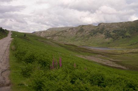 Paysage des Highlands en Ecosse.