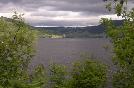 Le Loch Ness, Ecosse.