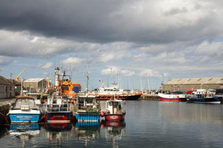 Port de Kirkwall - Les Orcades