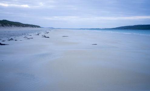 Baie de Logainstir au petit matin