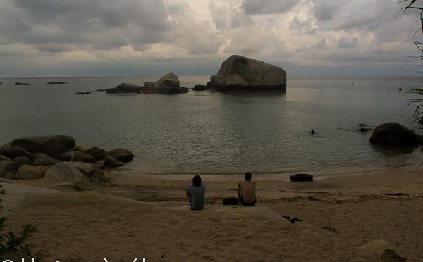 Plonger sur l'île de Koh Tao en Thaïlande