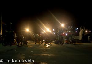 Le départ du cargo de nuit à Mae Haad