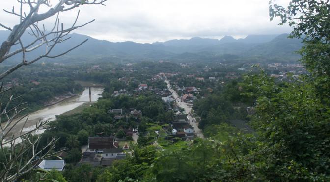 Le Laos à vélo : Luang Prabang et le Mékong.