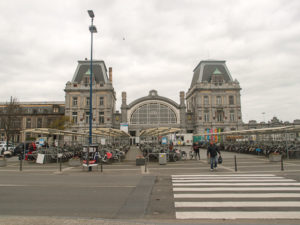 La gare de Ostende