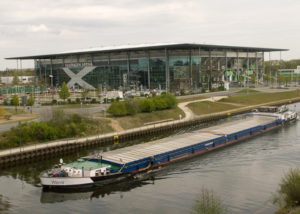 Le Volkswagen stadium à Wolfsbourg