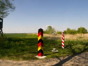 Frontière entre la Pologne et l'Allemagne