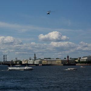 La Narva à Saint-Pétersbourg