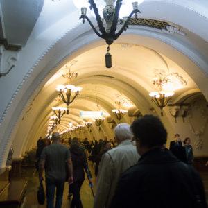 Métro de Moscou considéréré pour le plus beau du monde