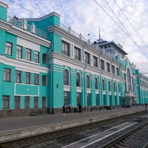 La jolie gare de Novossibirsk