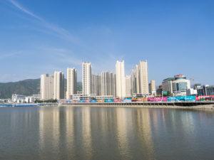 La ville de Zhangjiankou