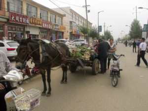 Marché matinale à Xian de Huade.