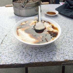 Soupe de tofu : excellent