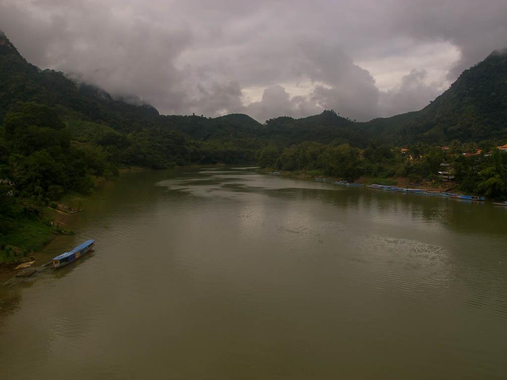 La rivière Nam Ou à Nong Khiaw