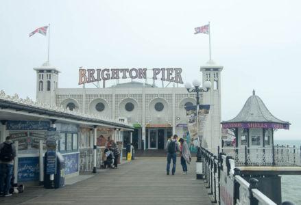 Pier de Brighton, Sussex, Angleterre