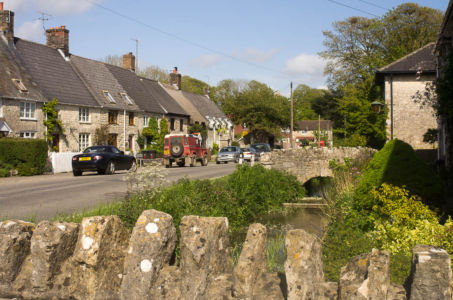 Village anglais dans le Dorset