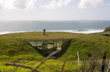 Eco-habitation sur la Pembrokeshire, Pays de Galles