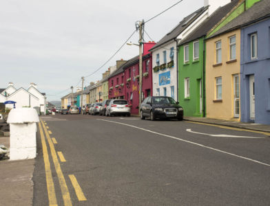 Portmagree en face de la Valentia Island.
