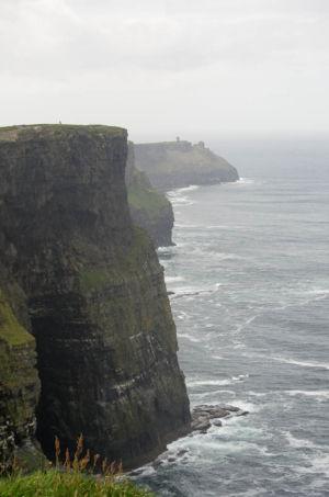 Les falaises de Moher : plus hautes falaises d'Europe.