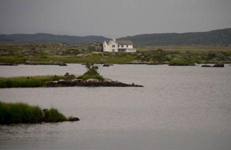 Loch dans le Connémara.