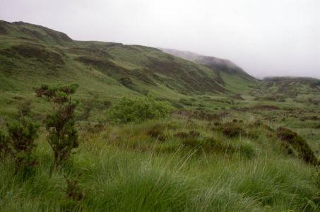 Paysage sur la presqu'île de Kintyre, Ecosse.