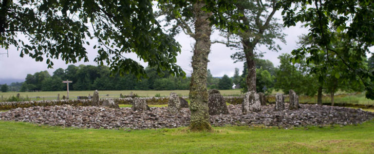 Temple Wood stone Circles - Kilmartin, Ecosse