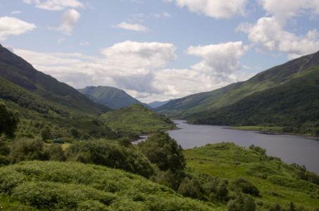 Le Loch Leven, Ecosse.