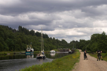 Caledonian Canal, Ecosse