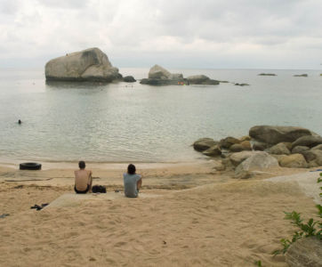 Koh Tao et touristes