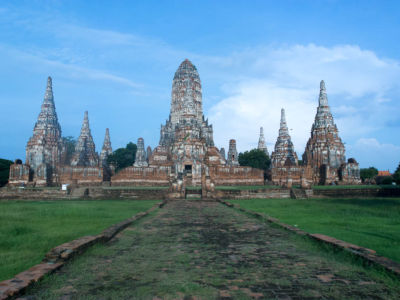Wat Chai Watthanaram à Ayutthaya