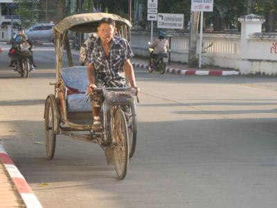 Tricycle à Nan