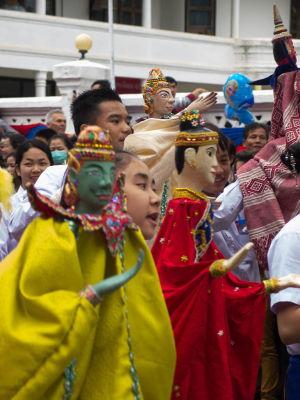 Marionnettes à Luang Prabang