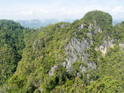Tiger cave temple - point de vue