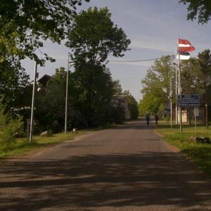 Frontière entre la Lettonie et l'Estonie