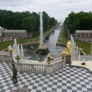Les fontaines du Palais de Peterhof