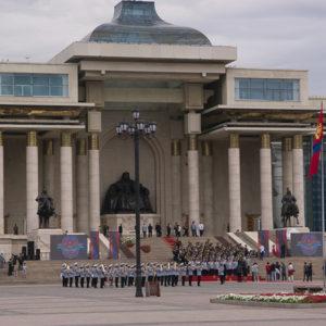 Le parlement à Oulan Bator