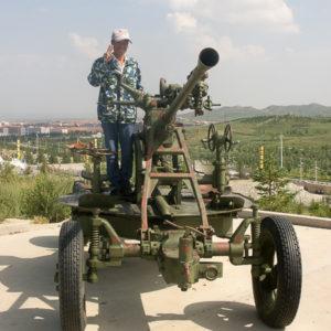 Xian de huade : mitrailette de l'armée chinoise